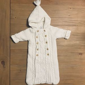 Baby Gap | Fleece Lined Cable Knit Sleep Sack